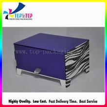 De Boa Qualidade Luxo Purple Perfume Gift Box