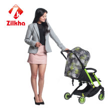Car with Frame and Regular Seat and Carrycot