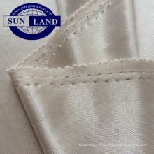Doublure interlock super douce en polyester 100% polyester en 105 g / m²