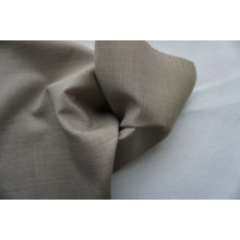 Strip Plain Worsted Wool Fabric of 100% Wool for Suit