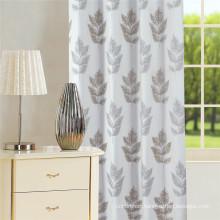 Morden Leave Design Jacquard Curtain