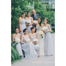 Best Selling A-line Floor Length Chiffon 2017 Sweetheart Pleat Wedding Party Dress Made In China Bridesmaid Dress 2017 DB105