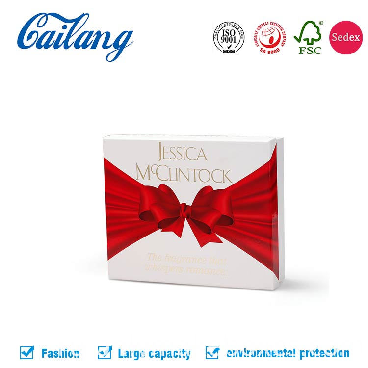 top and bottom paper packaging box for cosmetics
