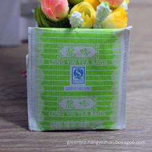 Jasmine tea hotel makes tea in disposable bags