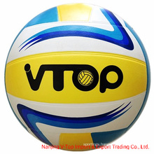 Colorful Smooth Surface Rubber Volleyball Size 5