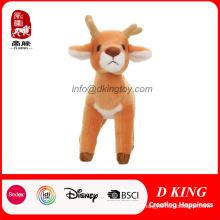 En71 cervos manchados bonitos da qualidade brinquedo macio enchido do animal do luxuoso