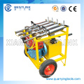 Large Power Rock and Concrete Hydraulic Splitter with Diesel Engine