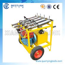 Divisor hidráulico grande de la roca de la potencia y del hormigón con el motor diesel