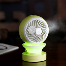 Wholesale Price for Rechargeable Mini Fan Personal Portable Table Fan with Mist Humidifier Purifier export to Netherlands Exporter