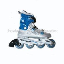 Sapato de patins em linha azul de alta qualidade novo design para adultos