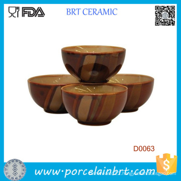 Sango Avanti Brown Ice Cream Bowl