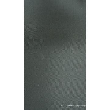 Tecido de poliéster de sarja T230d com revestimento de PU
