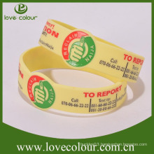 Factory Special custom personalized silicone bracelets