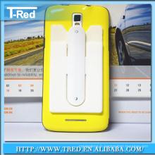 Support de carte de téléphone portable en silicone Touch-U