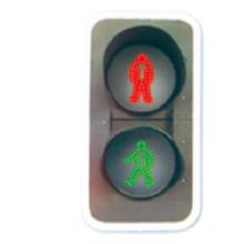 China manufacturer Outdoor 400mm Full-ball led traffic lighting, solar led traffic light