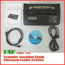 Máquina de Copiadora Térmica de Tatuagem USB LCD Tatuagem Transferência de Copiador de Estêncil