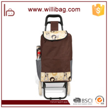 Popular Trolley Shopping Bag Shopping Bag With 2 Wheels