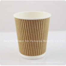 Ripple Wall Ripple-Wrap ™ Hot Paper Cup (beliebt in Hawaii) -Rwpc-31
