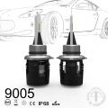 3600lm / 5200lm 6000k csp B6 led faro 9005 hb3 bombillas led para coche