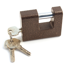 Brown Color Steel Padlock, Black Steel Padlock Al-74