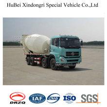 6cbm Dongfeng Euro 4 8X4 Concrete Mixer Transport Truck