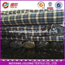 made in China stock lot cheap bulk flannel fabric for shirt100% cotton yarn dyed flannel fabric