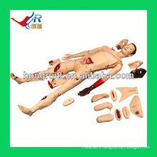 ISO Advanced medical nursing trauma manikin,trauma model