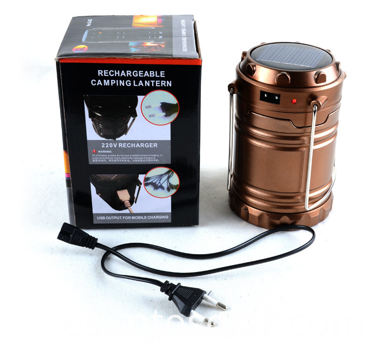 package of solar lantern
