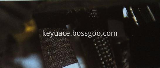 Zck Open Type Wave Grain Braided Sleeve