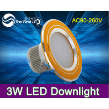 3W led downlight down light dmx