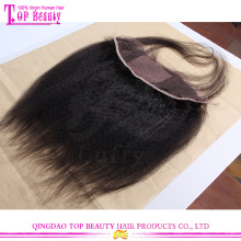 Natural color peruvian human hair lace frontal piece cheap human hair lace closure full lace frontal closures