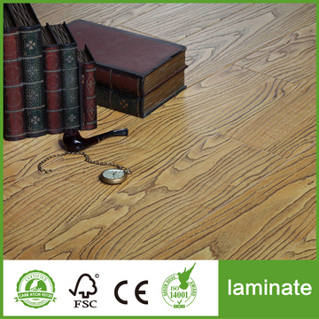 8mm AC3 Crystal Permukaan Laminate Flooring