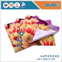 Tissu de Microfiber de lunettes personnalisé imprimé
