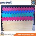 Wood Grain Interlocking EVA Puzzle Mat, EVA Taekwondo Floor Mat in Wood Color