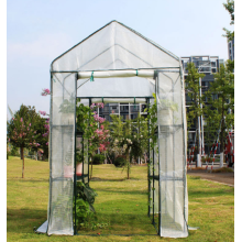 Garden Mini Greenhouse Cover With Transparent/Green Cover