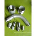 "1/8 ""aço inoxidável 316L DIN2999 soldadura Nipple de tubo"