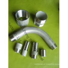 """1/4 """"aço inoxidável DIN2999 316 soquete de tubo"""