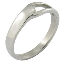 Stainless Steel Ring Simple Style Jewelry Polished Ring