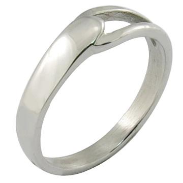 Edelstahl Ring Einfache Stil Schmuck Poliert Ring