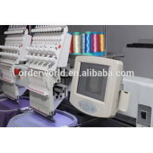 Two Head Tubular Embroidery machine High speed computerized emboridery machine