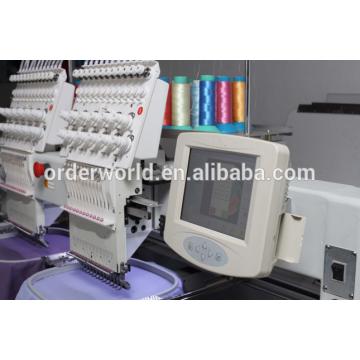 Two Head Tubular Embroidery machine High speed computerized emboridery machine