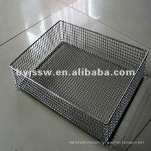wire mesh deep fry basket