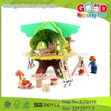 Притворяться играть дома игрушки деревянные дома игрушки образовательные дома игрушки