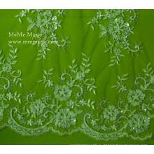 Последние Дизайн Кружевной Ткани 2014 Пояс Бисером Для Свадебное Платье Дома Моды Нет.CA0028B