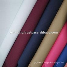 Tissu en coton polyester de haute qualité du VIETNAM