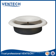 HVAC Air Conditioning Ceiling Diffuser Galvanized Iron Round Disc Valve Air Diffuser