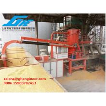 Grano Arena Carbón Cemento Fertilizante Succión Tipo Barco Unloder