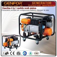 100% soldador de cobre, generador, compresor de aire y cargador de batería 4 en 1 máquina