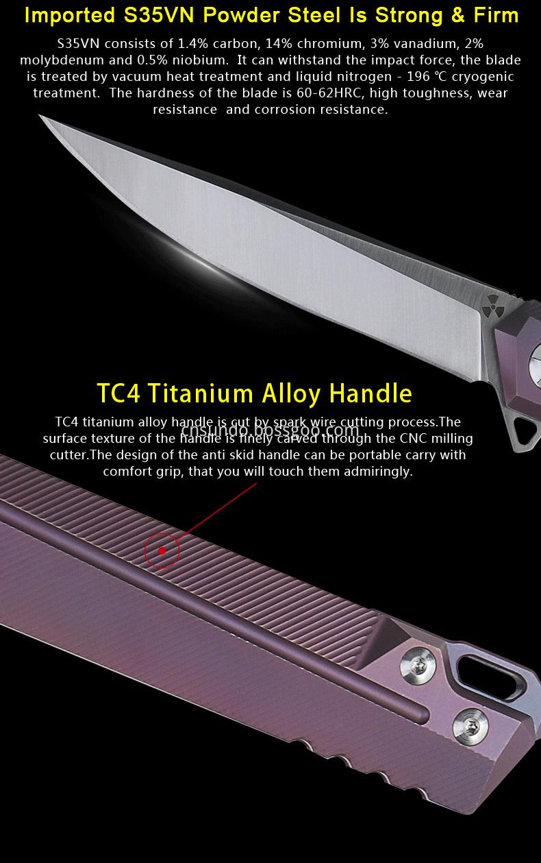 Titanium Knife