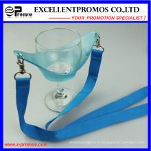 Transfert de chaleur promotionnel en caoutchouc personnalisé en verre à vin personnalisé (EP-Y581407)